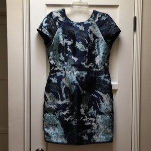Zara silk-like cocktail event mini dress Sz XL